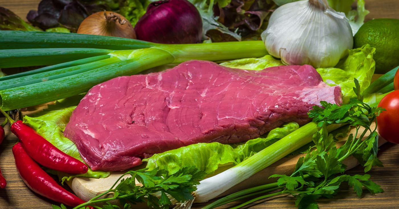 Stařený hovězí flank steak (Přibližná hmotnost balení: 0,6 kg)